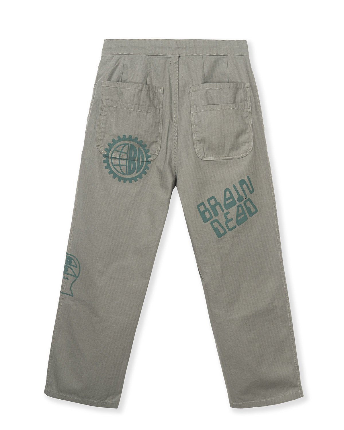 BRAINDEAD M'S PANTS PRINTED CLIMBER PANT - OLIVE