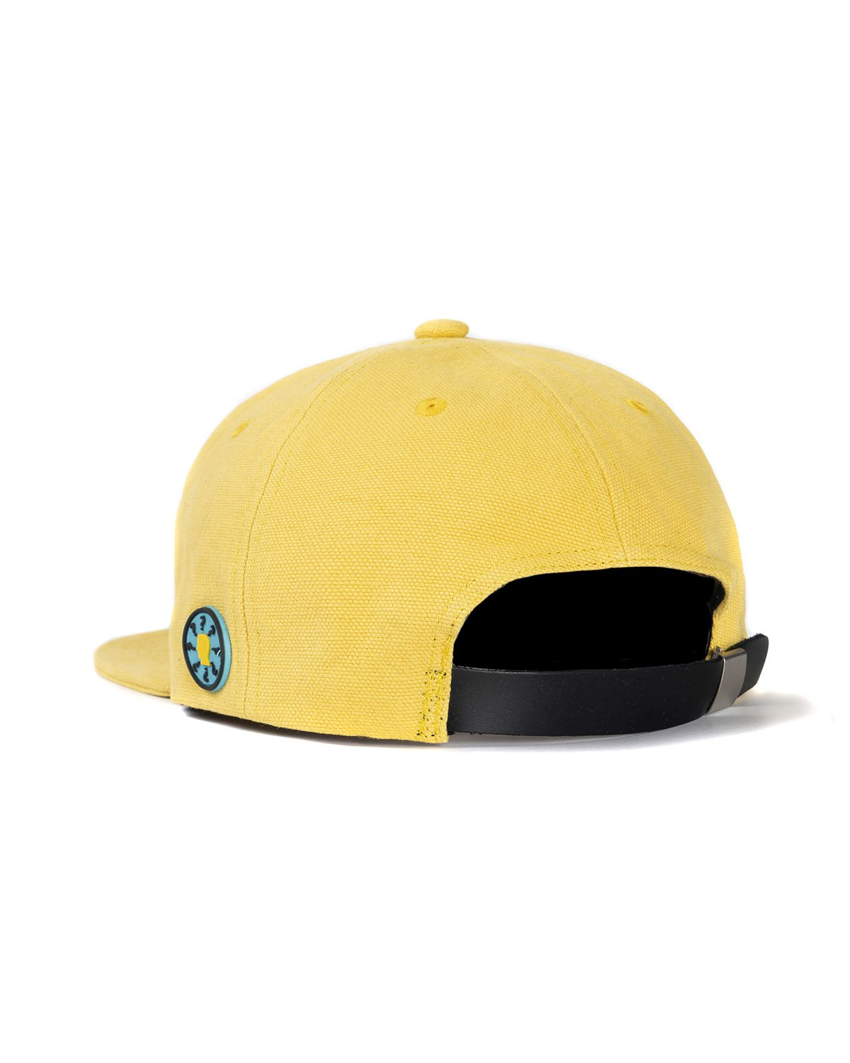 BRAINDEAD HATS BANG LOGO STRAP BACK HAT - YELLOW