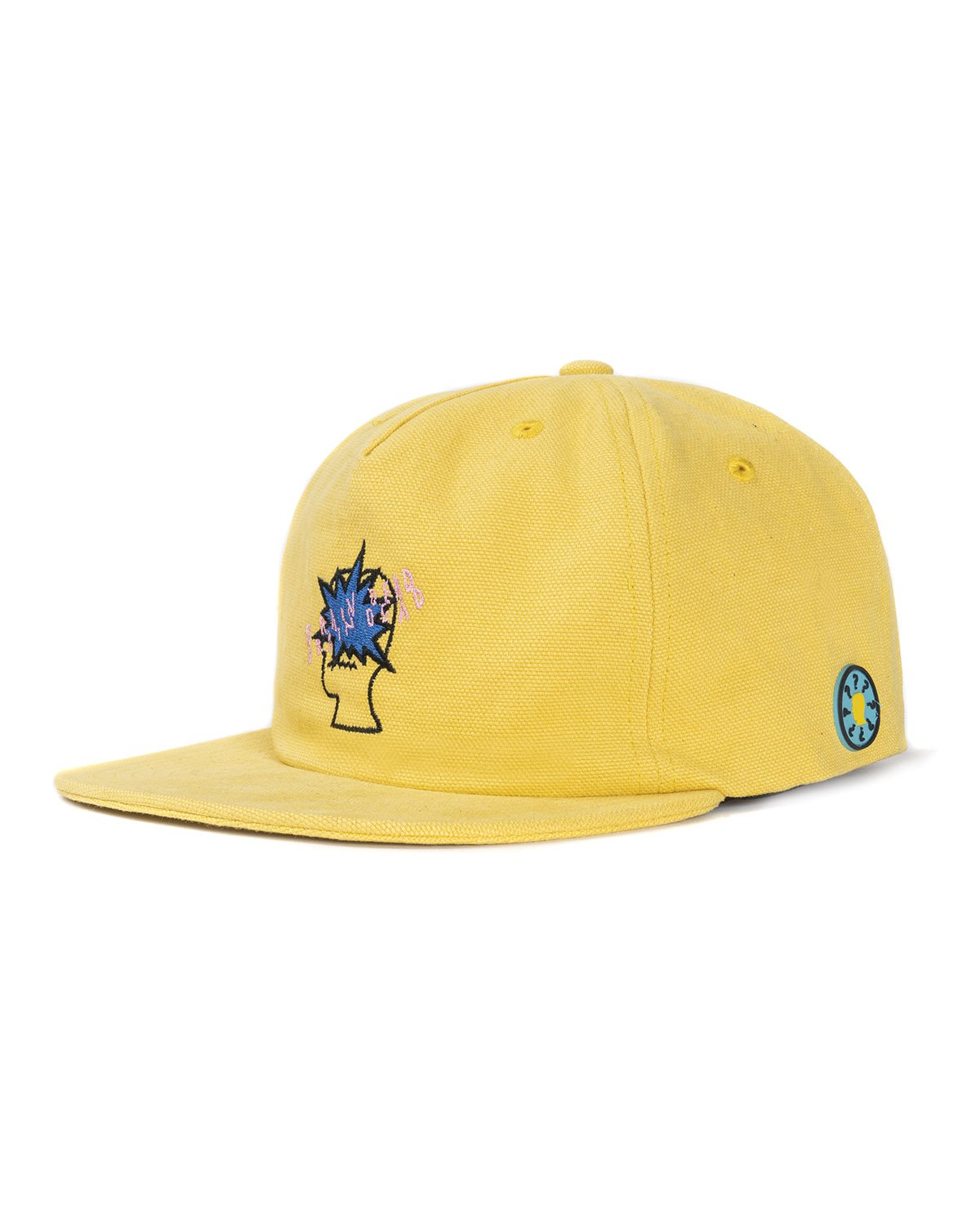 BANG LOGO STRAP BACK HAT - YELLOW
