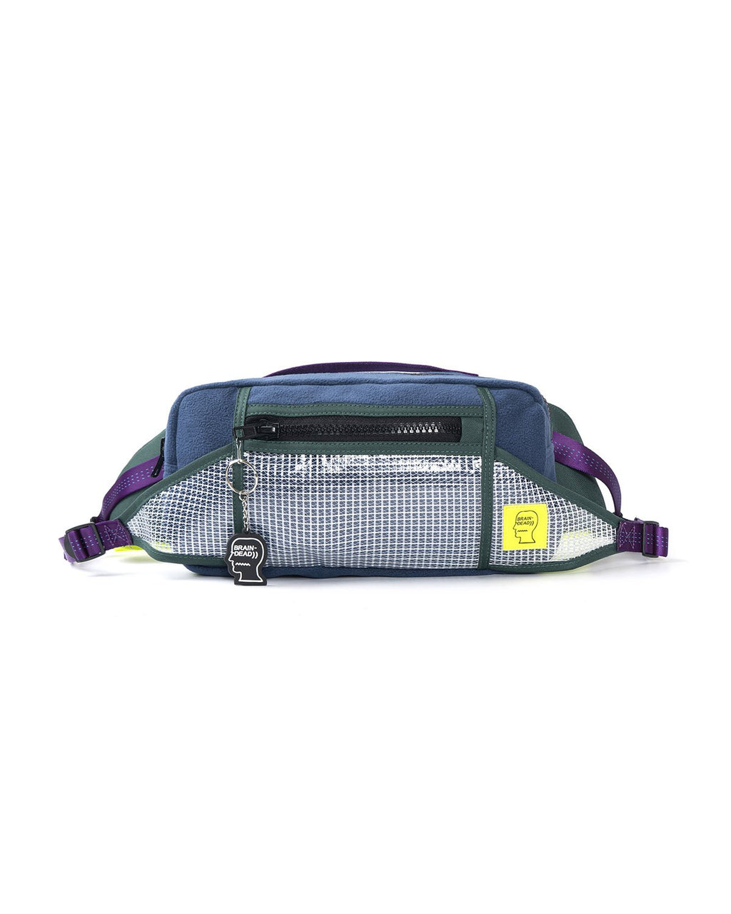 RUSH HOUR FANNY PACK - BLUE/FOREST GREEN