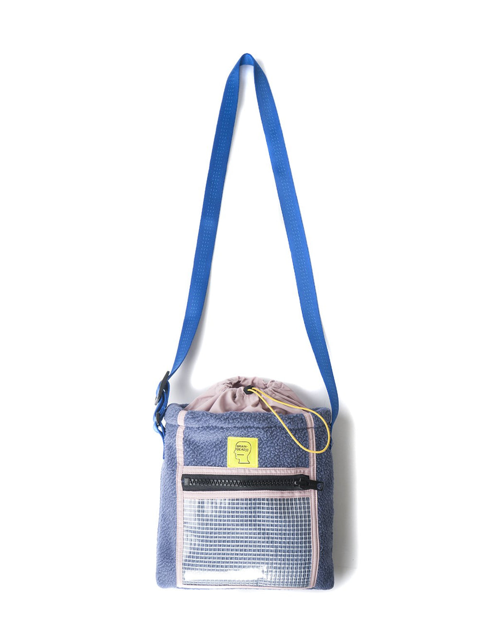 RUSH HOUR TOTE BAG - BLUE/PINK