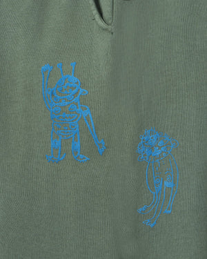 BRAINDEAD M'S PANTS P&TY SWEATPANT - GREEN