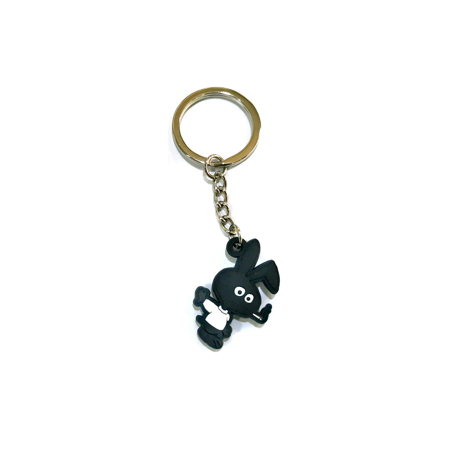 COLD WORLD ACCESSORIES BLACK O/S COLD BUNNY PVC KEY CHAIN