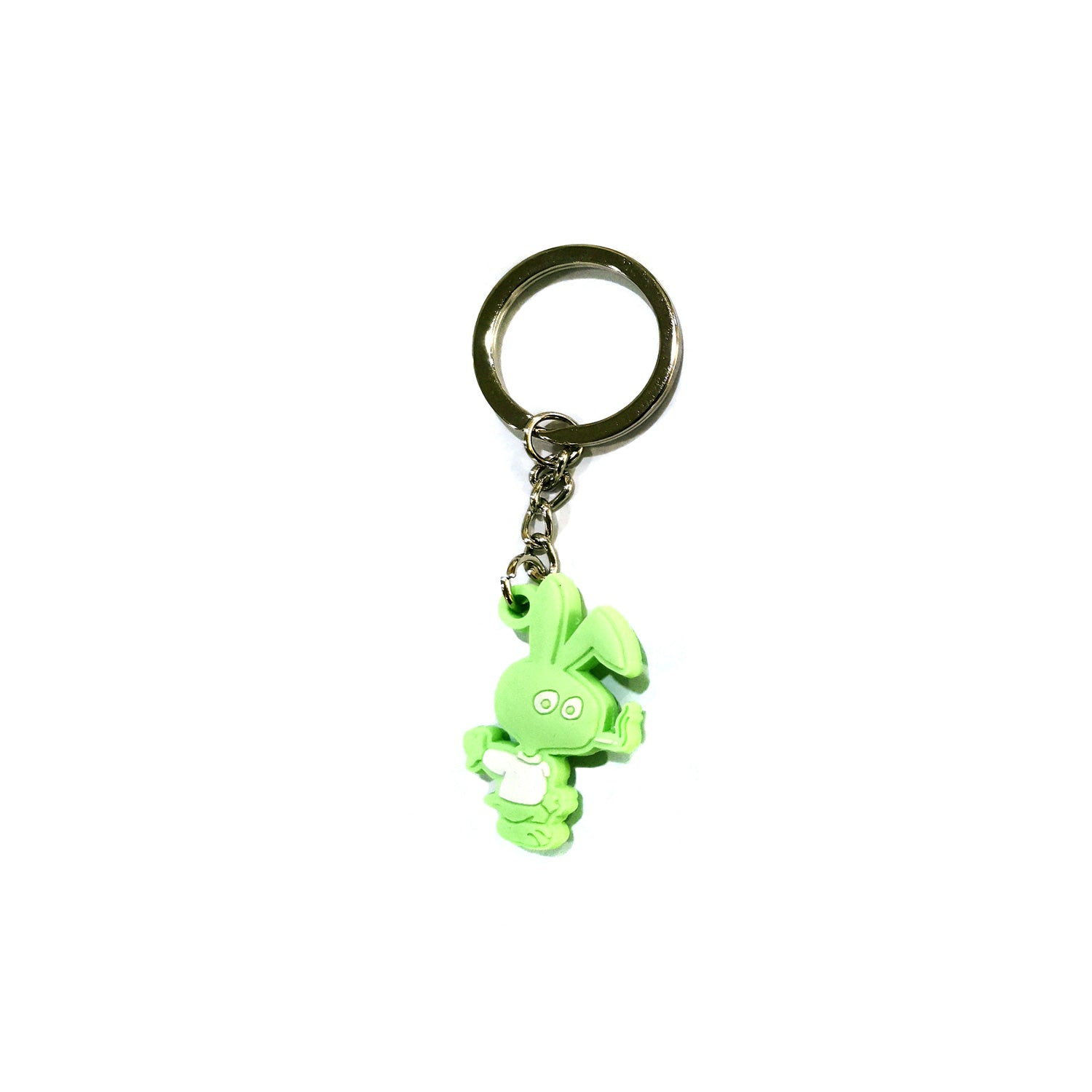 COLD WORLD ACCESSORIES GREEN O/S COLD BUNNY PVC KEY CHAIN