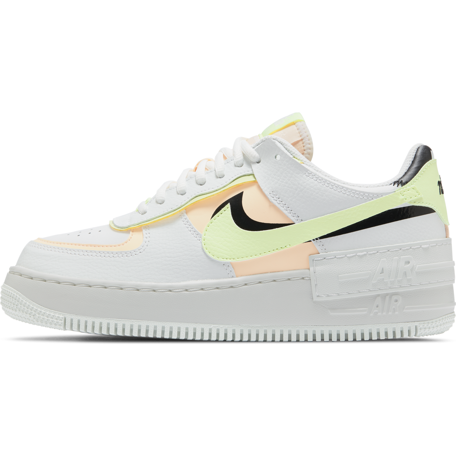 NIKE W'S FOOTWEAR W AIR FORCE 1 SHADOW - SUMMIT WHITE/BLACK