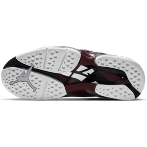 AIR JORDAN W'S FOOTWEAR W JORDAN 8 RETRO - WHITE/BLACK-DEEP BURGUNDY