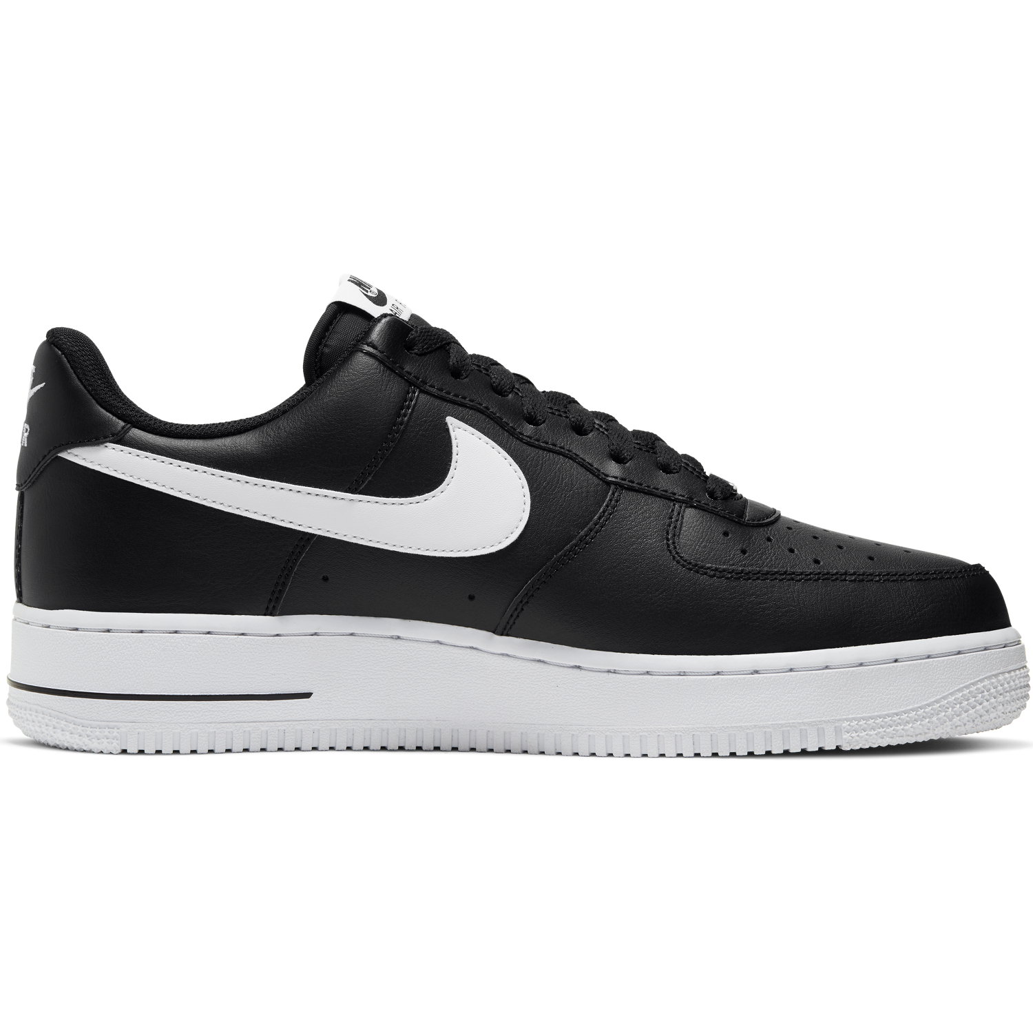 NIKE M'S FOOTWEAR AIR FORCE 1 '07 - BLACK/WHITE