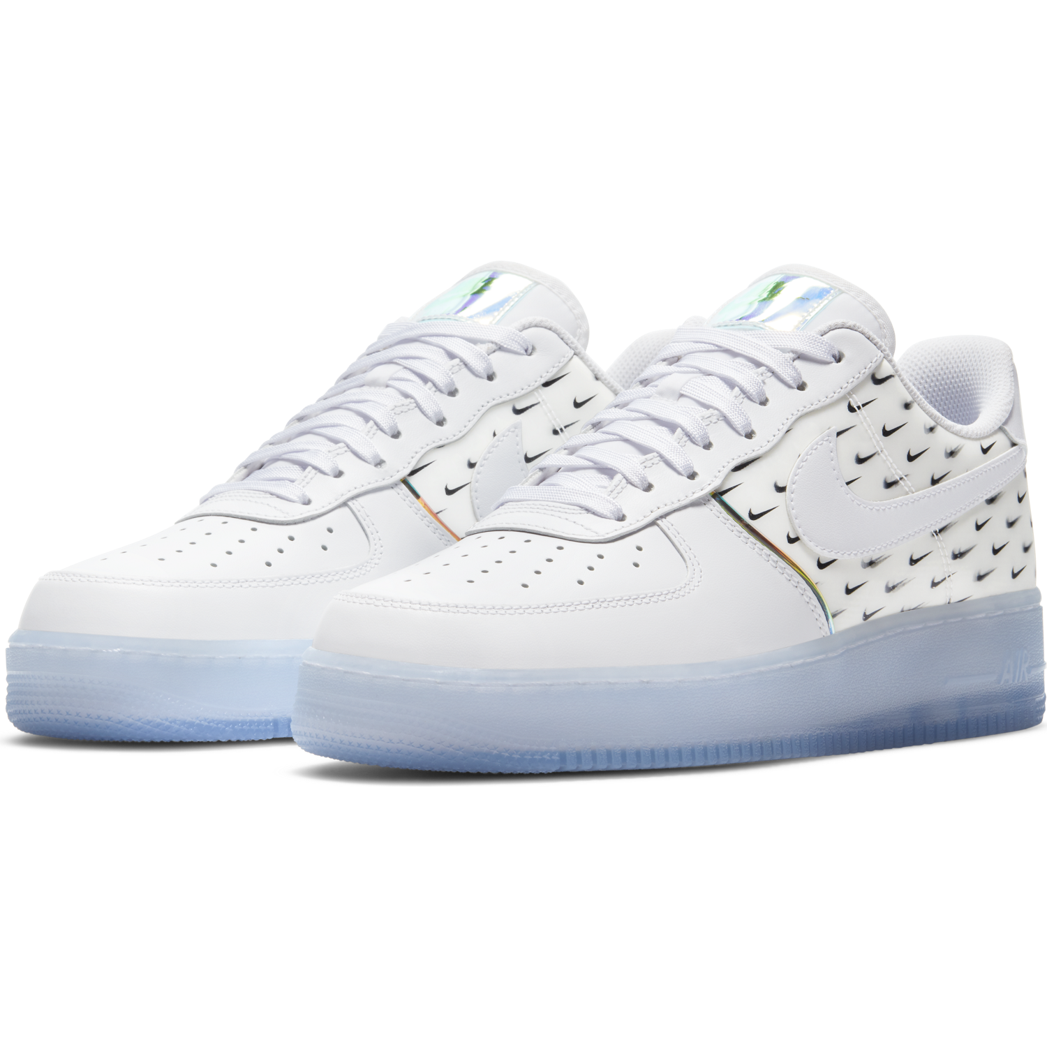 AIR FORCE 1 '07 PRM - WHITE/WHITE-MULTI