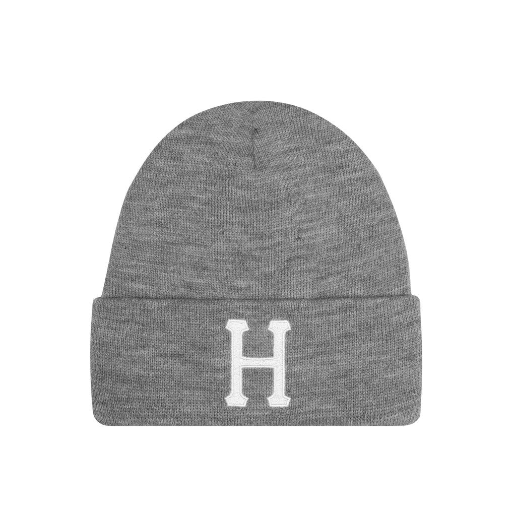 CLASSIC H BEANIE - GREY HEATHER