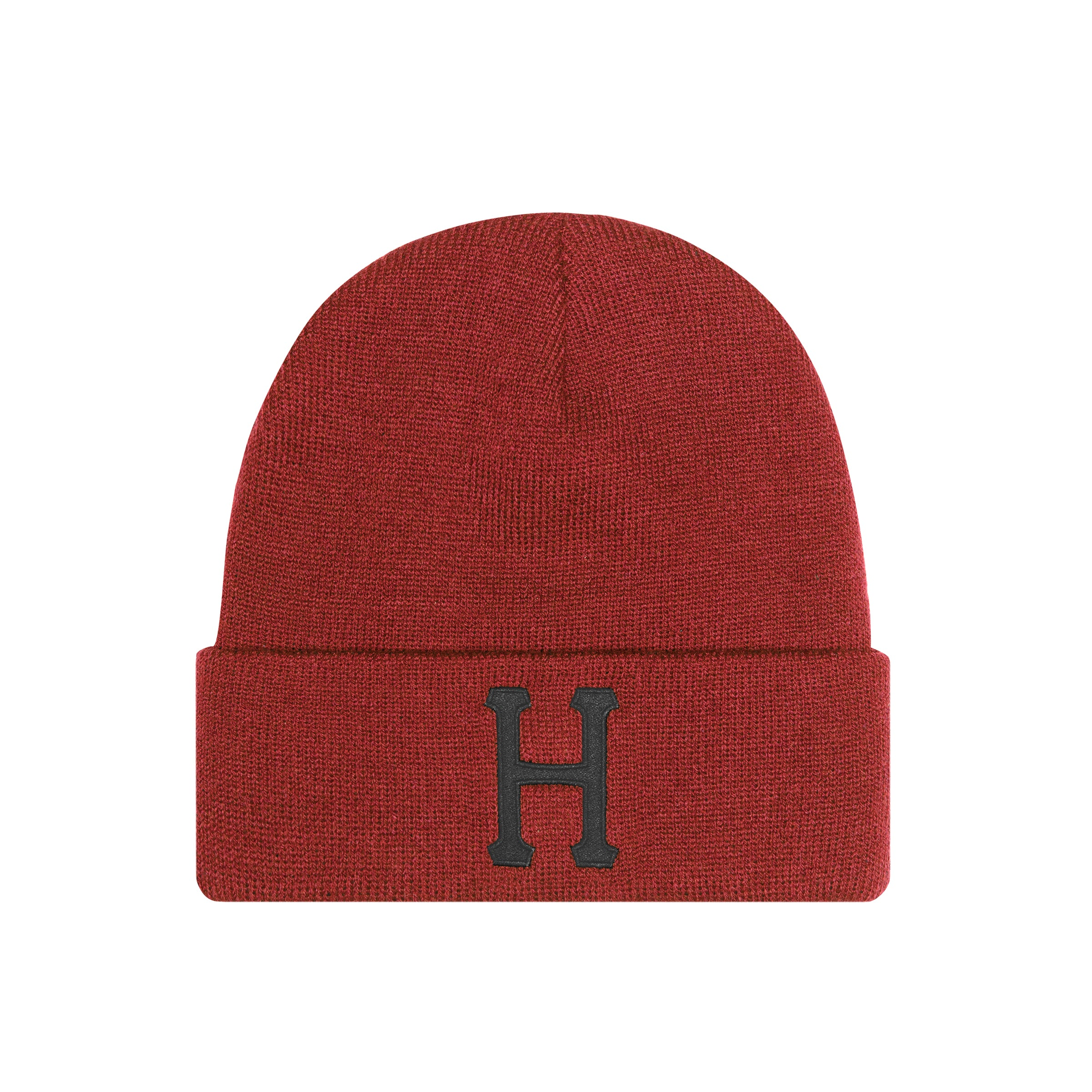 CLASSIC H BEANIE ROSE WOOD RED HUF