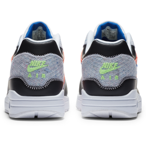 NIKE M'S FOOTWEAR AIR MAX 1 - WHITE/GAME ROYAL