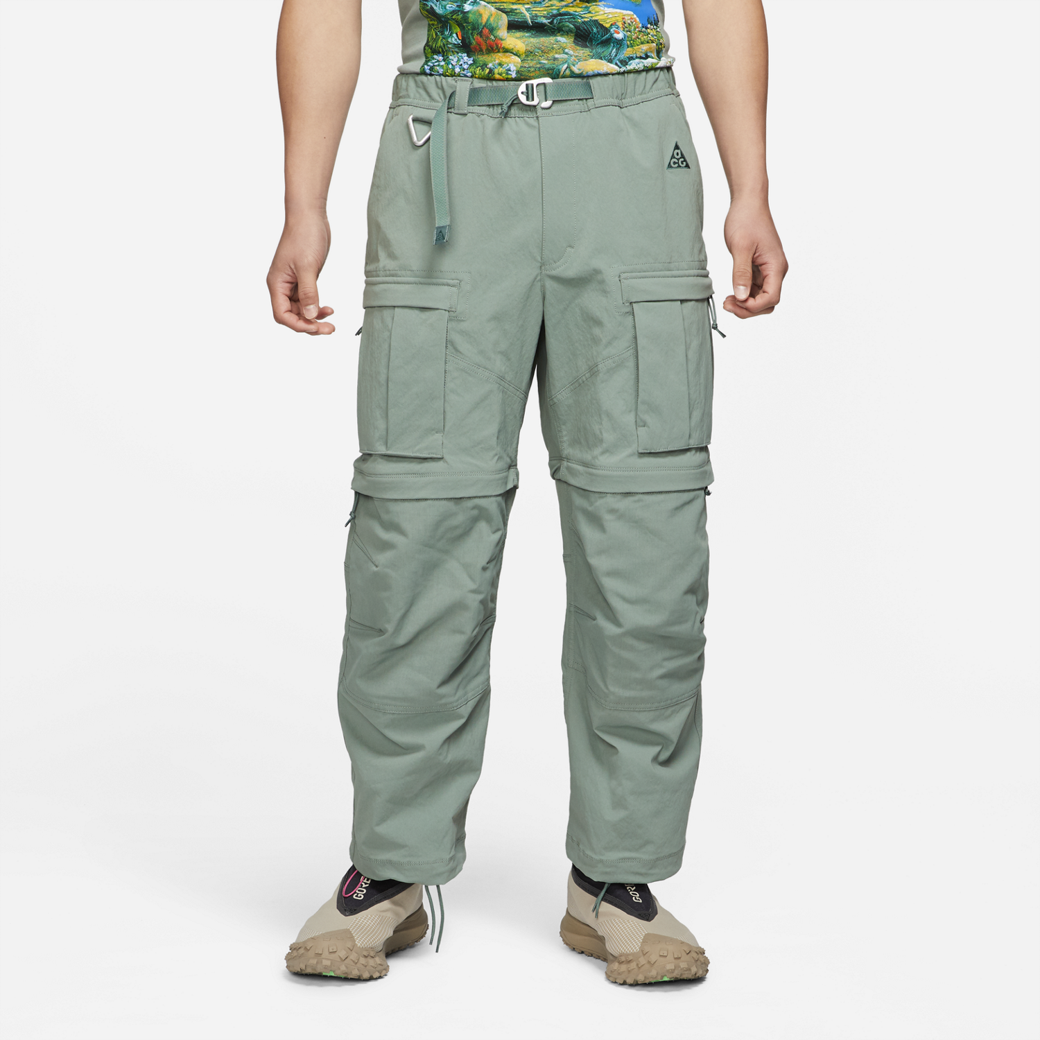 "ACG ""SMITH SUMMIT"" CARGO PANT - CLAY GREEN"