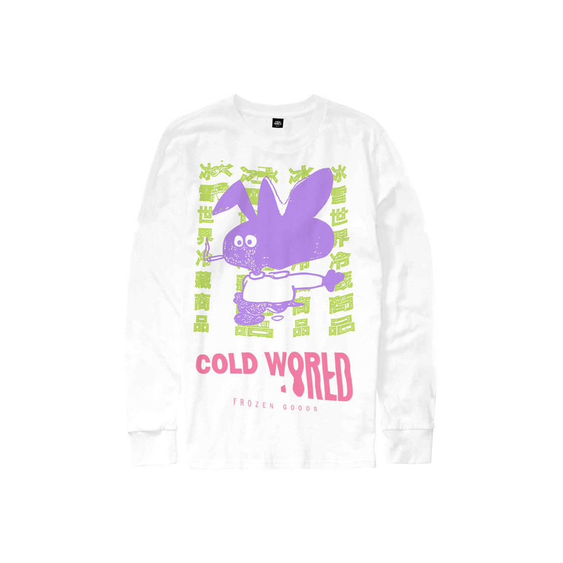COLD WORLD M'S T-SHIRTS COLD BUNNY LONG SLEEVE