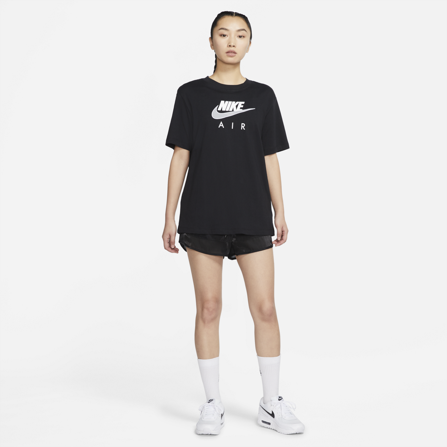 NIKE W'S T-SHIRTS W AIR BOYFRIEND TOP