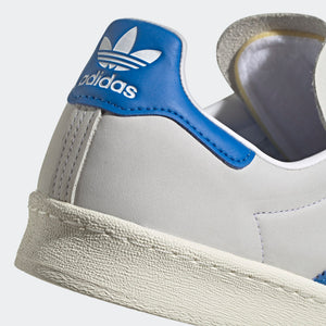 ADIDAS M'S FOOTWEAR CAMPUS 80S - CLOUD WHITE/BLUE BIRD