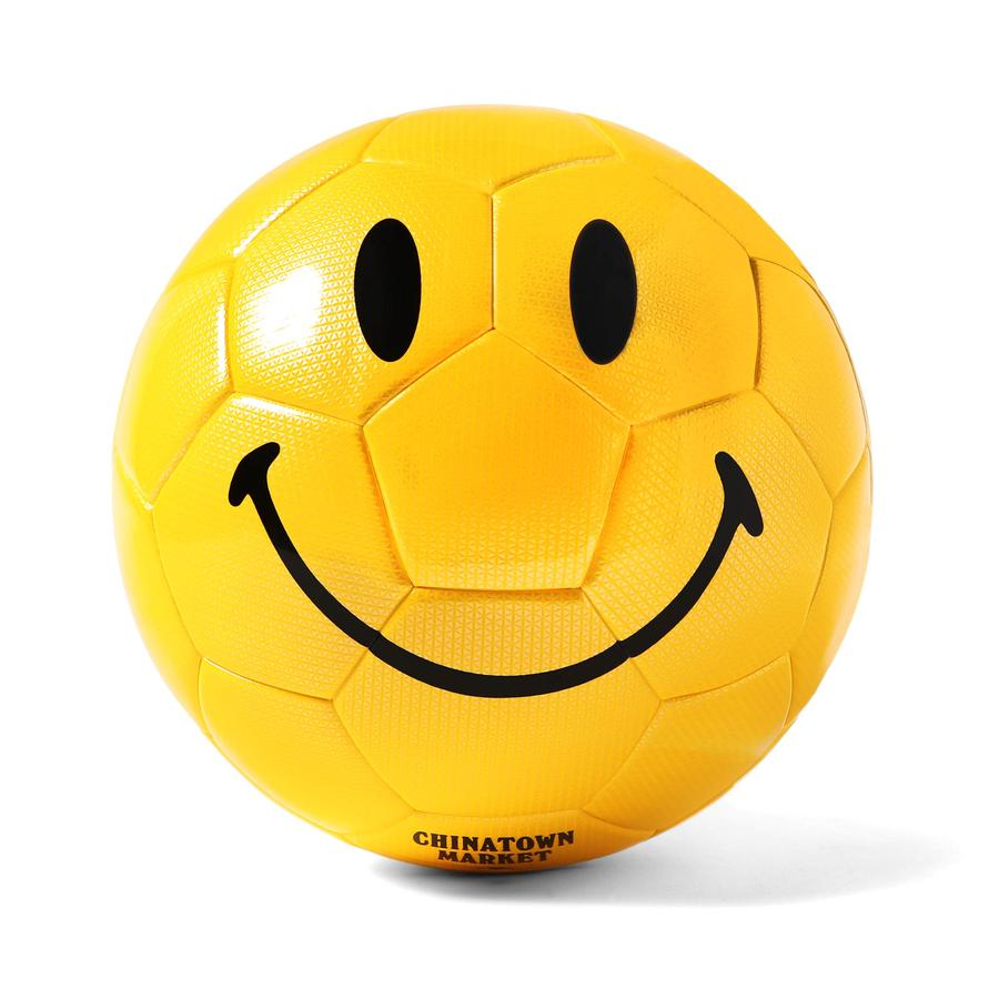 CHINATOWN MARKET COUNTER ACCESSORIES SMILEY SOCCER BALL