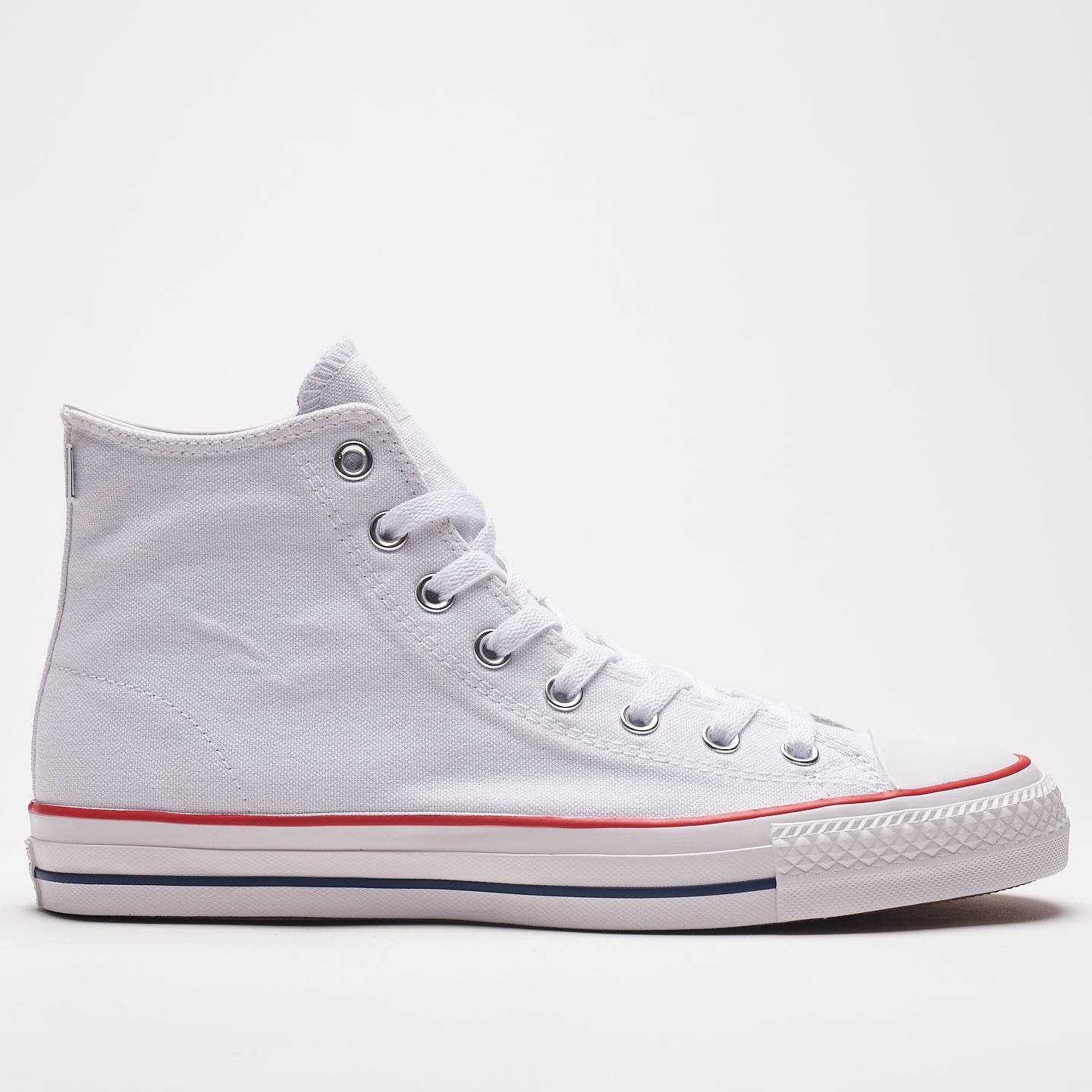 CONVERSE M'S FOOTWEAR Wht/Red 8 CHUCK TAYLOR ALL STAR PRO HIGH TOP WHITE