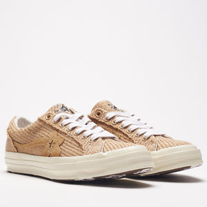 CONVERSE X GOLF LE FLEUR* ONE STAR LOW TOP CURRY
