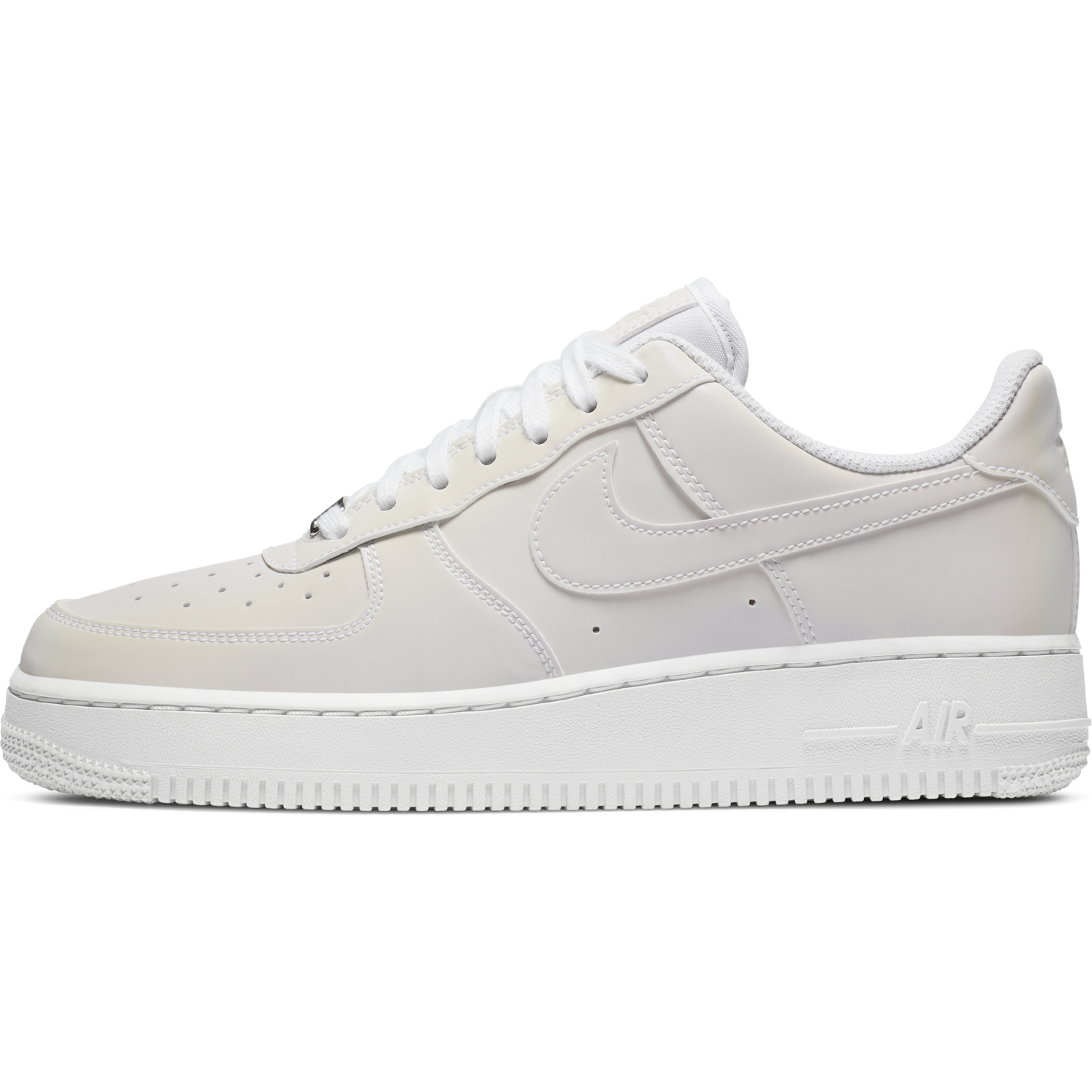 NIKE W'S FOOTWEAR W AIR FORCE 1 '07 - WHITE/WHITE-BEYOND PINK