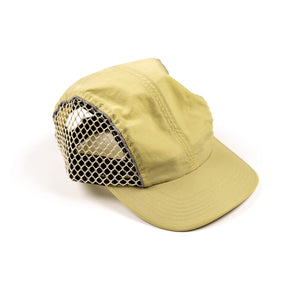 RAISED BY WOLVES HATS GOLD O/S TRIDENT 4 PANEL CAP