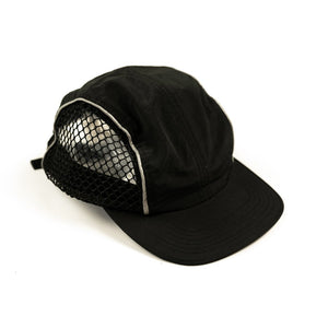RAISED BY WOLVES HATS BLK O/S TRIDENT 4 PANEL CAP