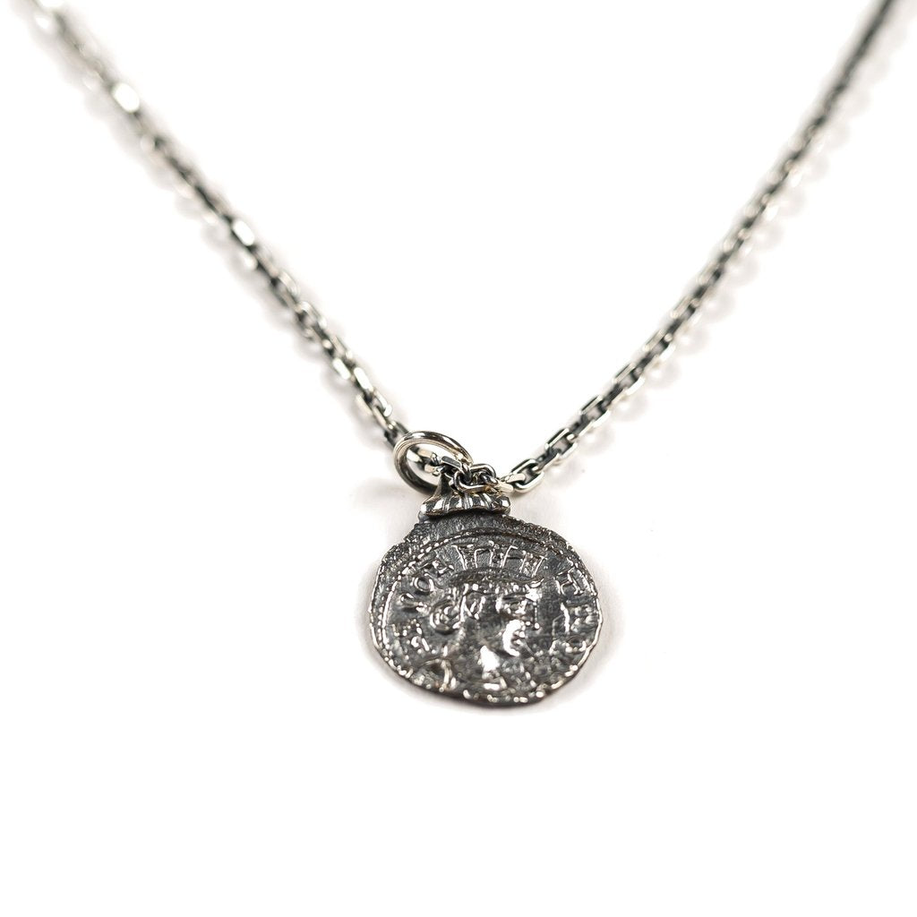 COIN PENDANT (STERLING SILVER)