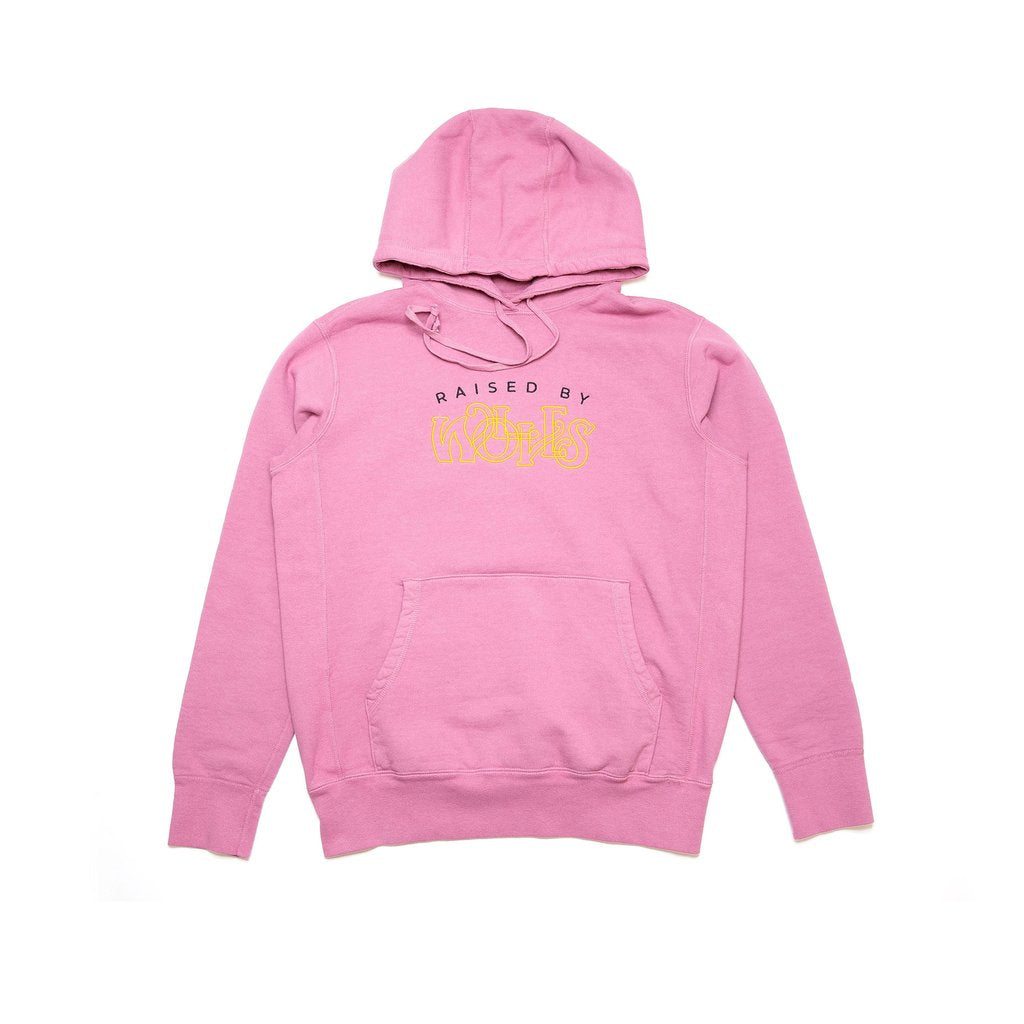 RAISED BY WOLVES M'S HOODIES MAUVE S MENTHOL HOODIE