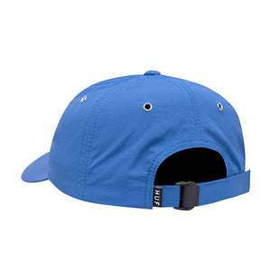 HUF HATS BLUE O/S DWR FUCK IT CURVED VISOR 6-PANEL HAT