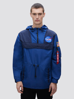 ALPHA INDUSTRIES M'S CASUAL JACKETS COLOR BLOCKED NASA ANORAK