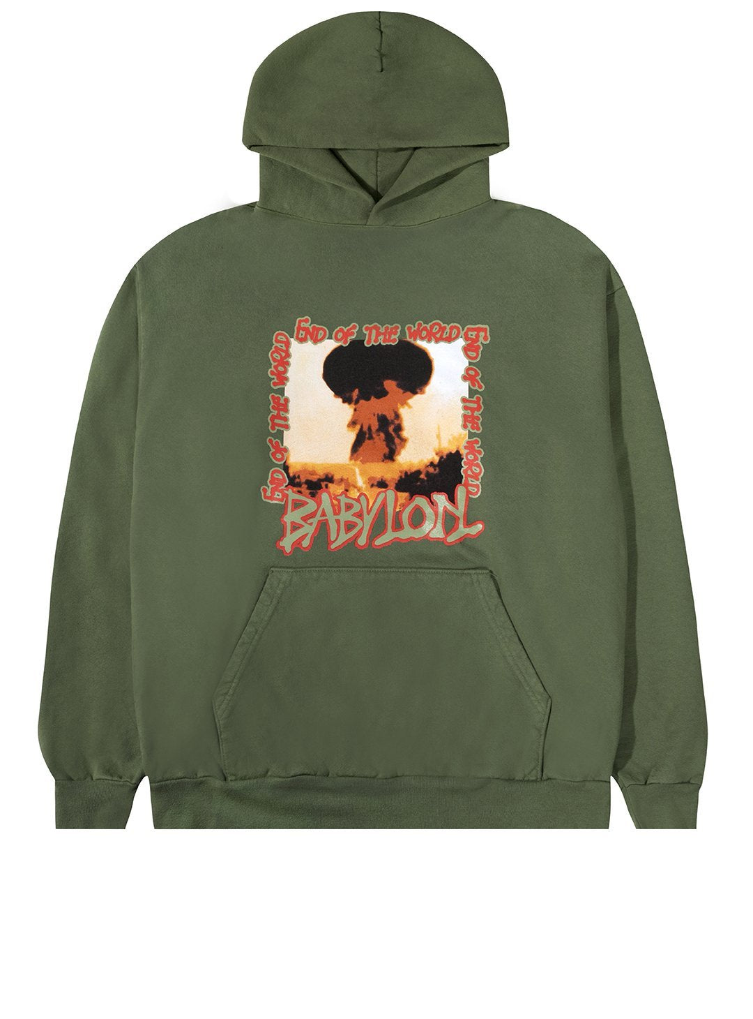 BABYLON M'S HOODIES END OF THE WORLD HOODIE