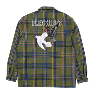 PLEASURES M'S SHIRTS WIDOW HEAVYWEIGHT FLANNEL