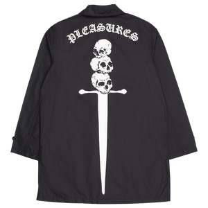PLEASURES M'S CASUAL JACKETS TOXIC LONG JACKET