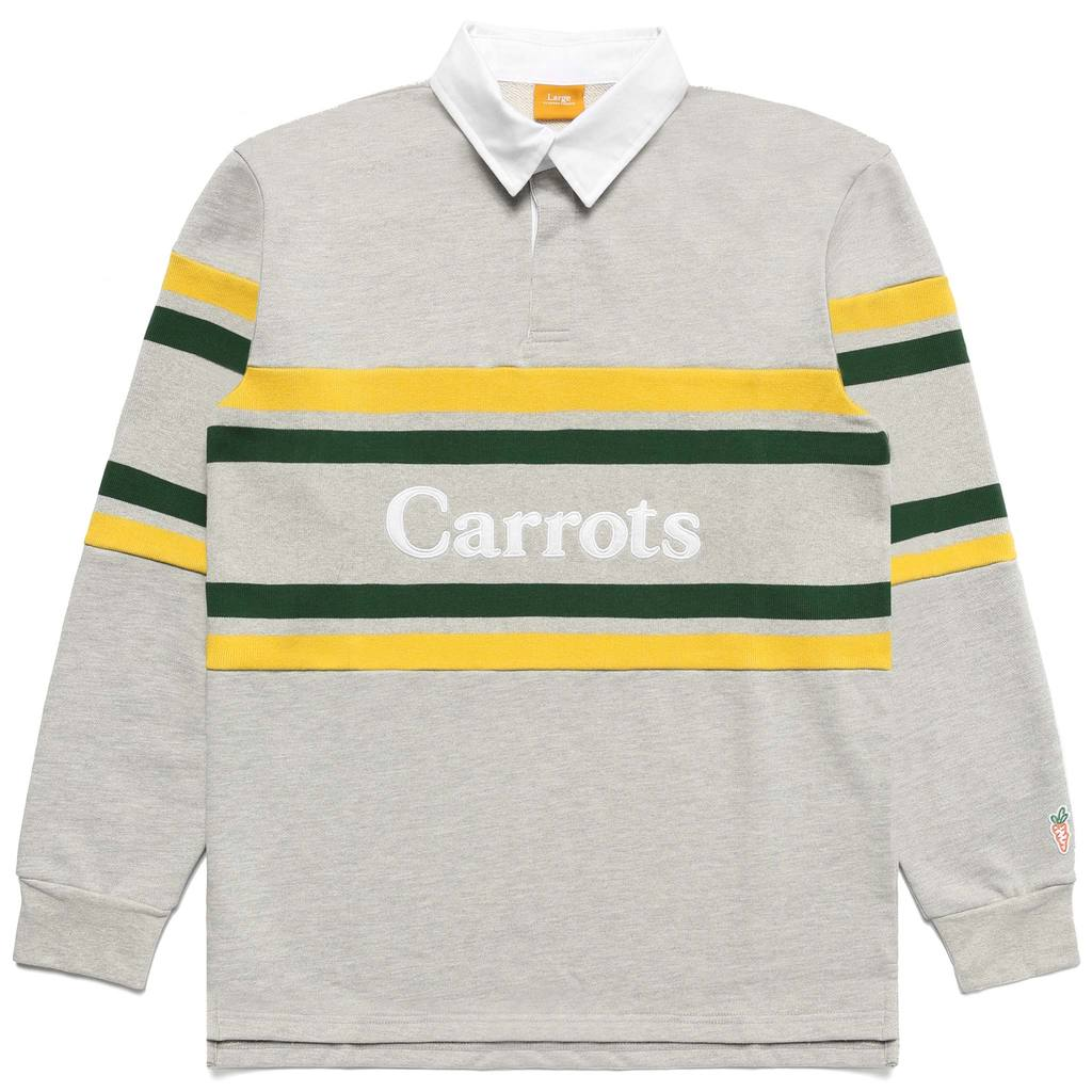 CARROTS M'S SHIRTS WORDMARK STRIPED RUGBY