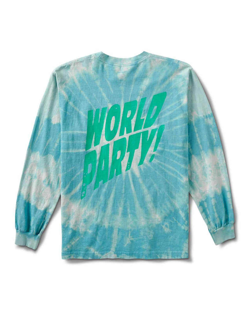WORLD PSYCH PARTY LS T BLUE TIE DYE