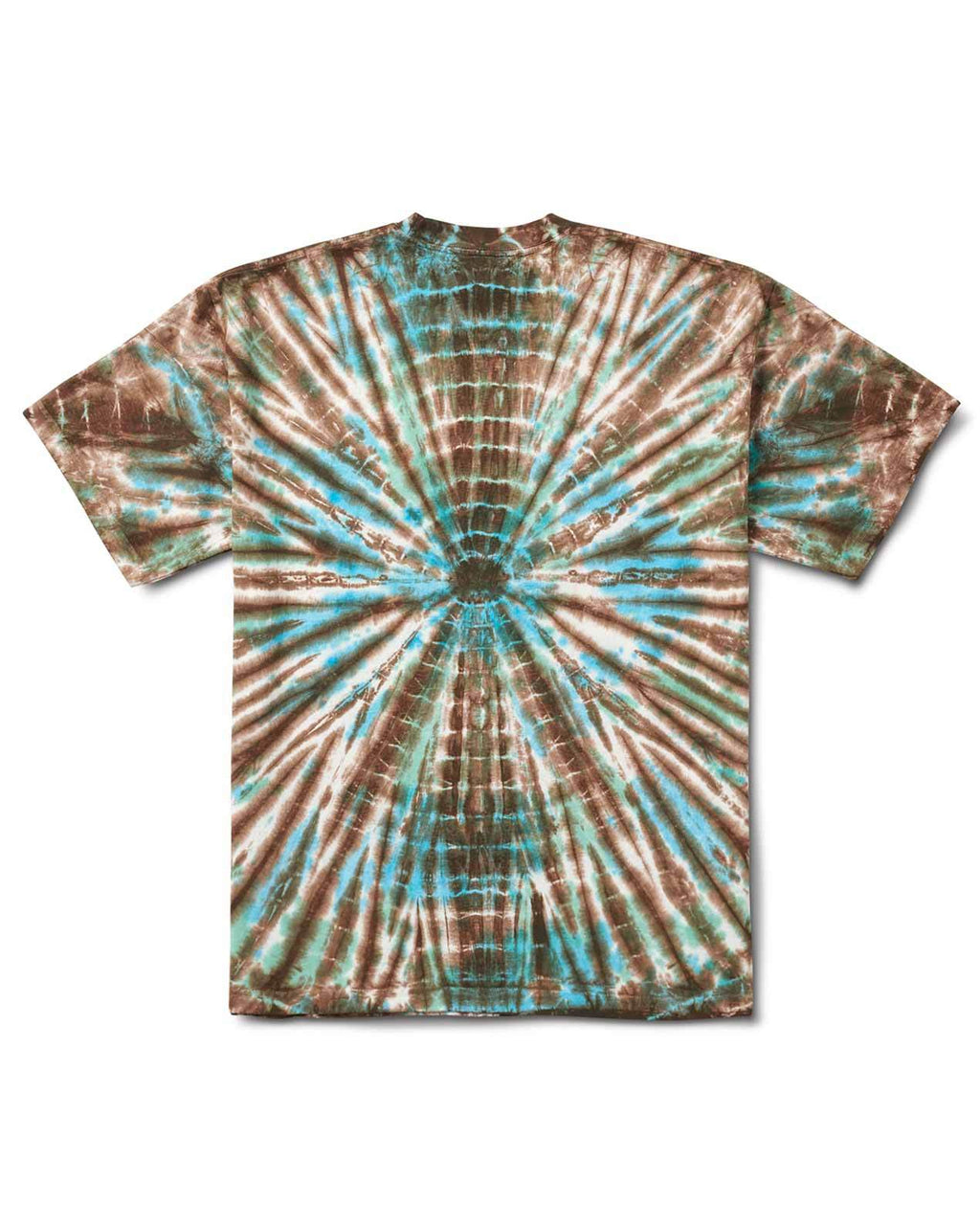 TREE PARTY TEE GREEN TIE DYE