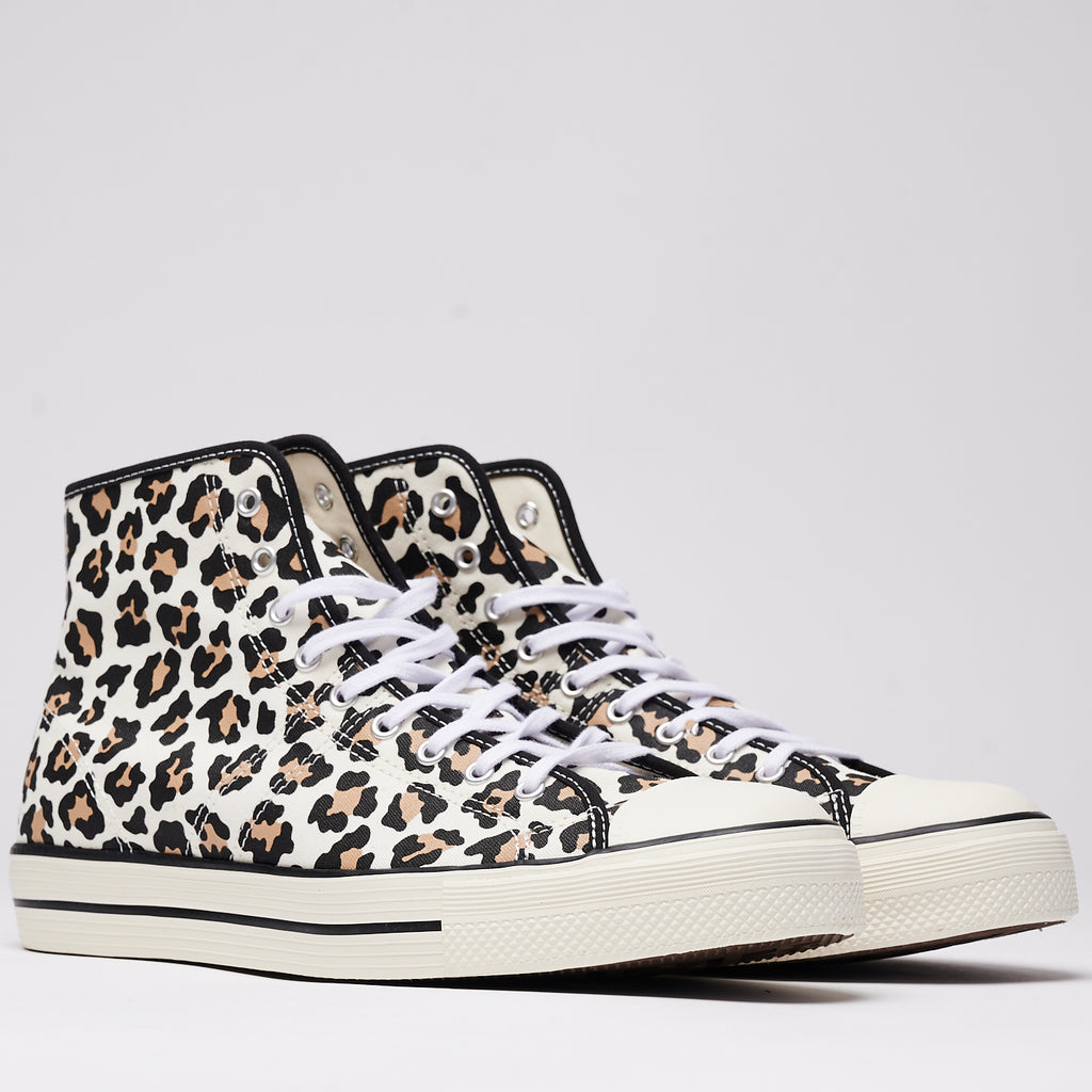 LUCKY STAR ARCHIVE PRINT HIGH TOP - DRIFTWOOD/LIGHT FAWN/BLACK