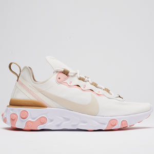 NIKE REACT ELEMENT 55 - PHANTOM/LT OREWOOD