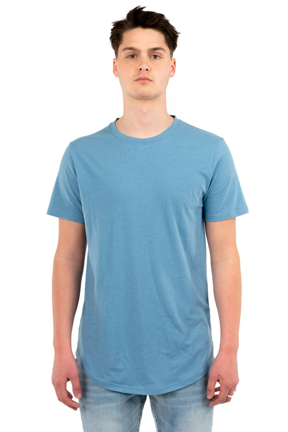 KUWALLA M'S T-SHIRTS BLUE STEEL S EAZY SCOOP TEE
