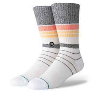 STANCE SOCKS ORANGE M ROBERT CLASSIC CREW