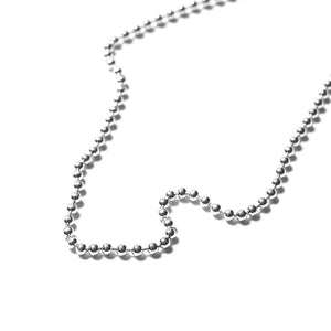 MAPLE JEWELERY Default BALL CHAIN (SILVER 925) 50cm