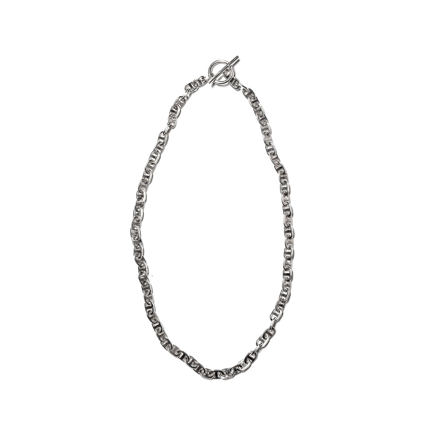 MAPLE JEWELERY CHAIN LINK NECKLACE 7mm (SILVER 925)