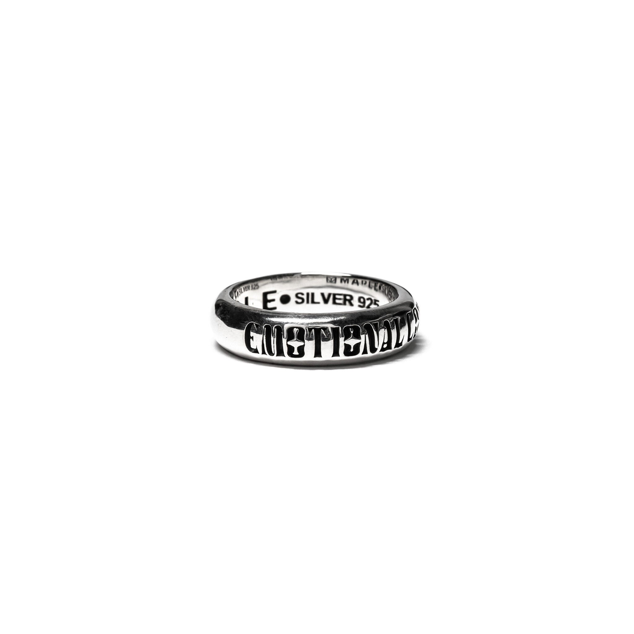 MAPLE JEWELERY EMOTIONAL CONTENT RING (SILVER 925)