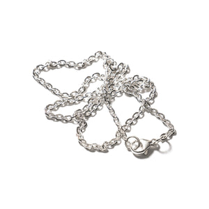 MAPLE JEWELERY SILVER 925 60cm FLAT CHAIN (SILVER 925)