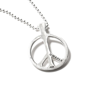 MAPLE JEWELERY SILVER 925 O/S PEACE PENDANT (SILVER 925)