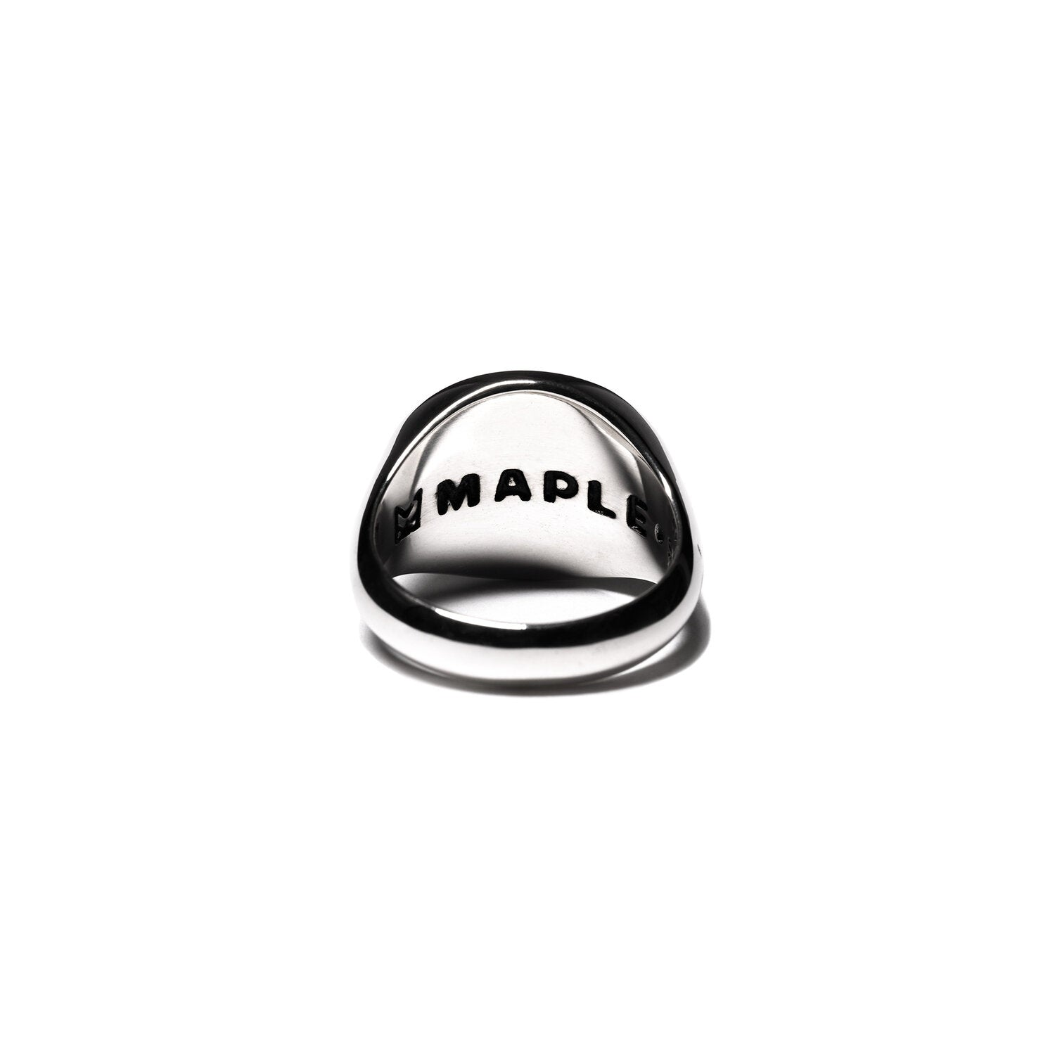 MAPLE JEWELERY TUBBY RING (SILVER/ONYX)