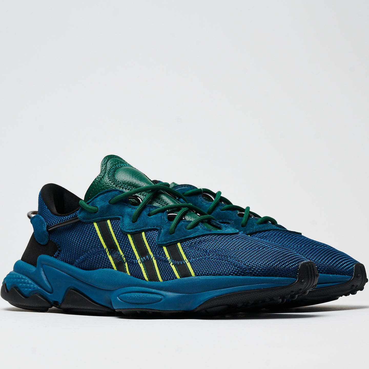 ADIDAS M'S FOOTWEAR PUSHA T OZWEEGO - TECH MINERAL/TECH MINERAL