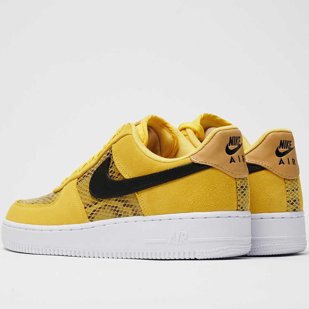 AIR FORCE 1 '07 PRM - CHROME YELLOW/BLACK-CLUB GOLD