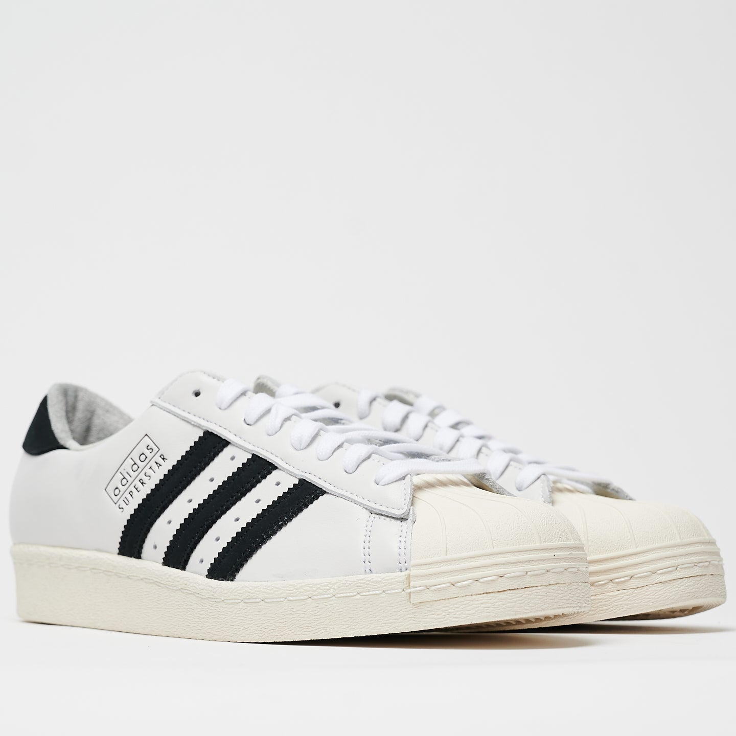 ADIDAS M'S FOOTWEAR SUPERSTAR 80'S RECON - CLOUD WHITE/CORE BLACK/OFF WHITE