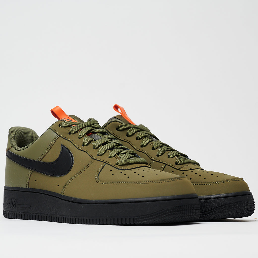 AIR FORCE 1 '07 - MEDIUM OLIVE/BLACK-STARFISH