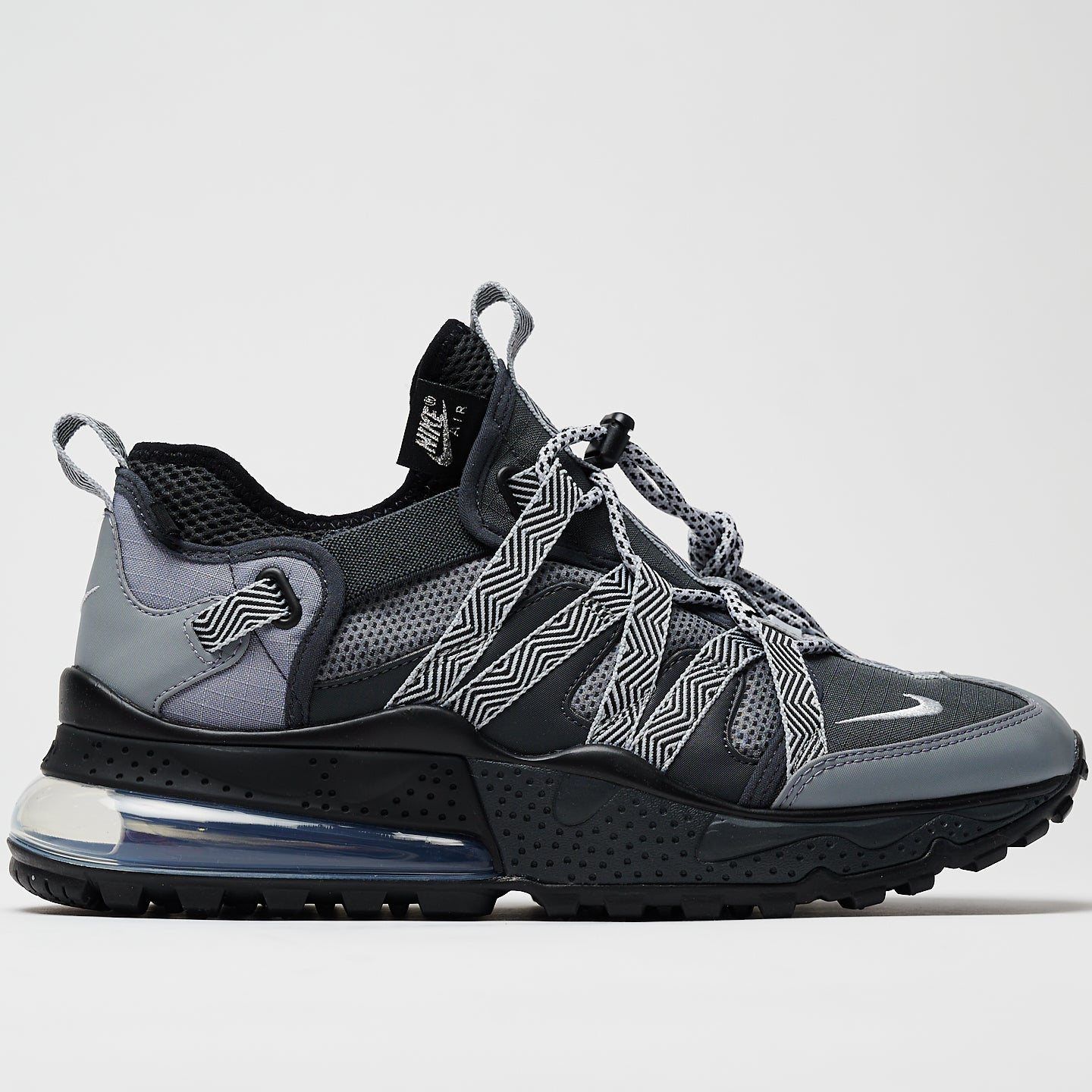 NIKE M'S FOOTWEAR AIR MAX 270 BOWFIN - ANTHRACITE/METALLIC SILVER